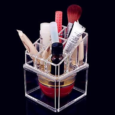 Kosmetikaufbewahrung Herausnehmbare Drawears / 2 Ebenen Bilden 1 pcs Acryl Andere Kosmetikum Pflegezubehör