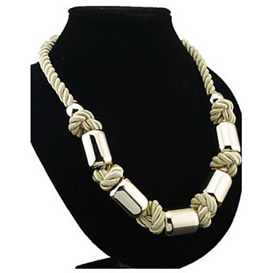 Golden Statement Necklaces Alloy Party / Daily / Casual Jewelry