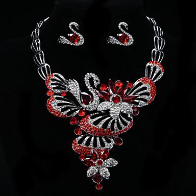 Šperky Set Dámské Výročí / Svatba / Zásnuby / Narozeniny / Dárek / Párty / Na každý den / Zvláštní příležitost Sady šperků Stříbrná