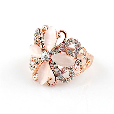 Kayshine elegantne ženske izrezana cvjetnim uzorkom Ring