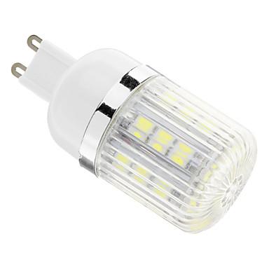 G9 LED Corn Lights T 30 leds SMD 5050 Cold White 400lm 6000-6500K AC 110-130V