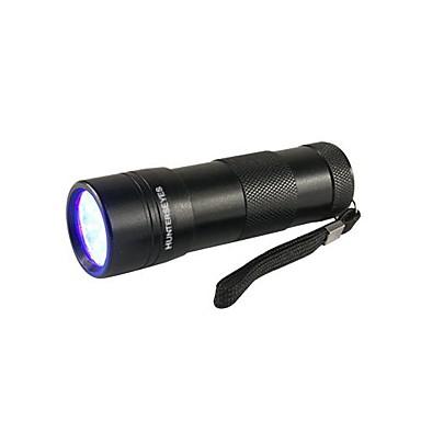 D09UV-1-0-1 Lanterne Cu Lumină Închisă LED 1 Mod Zbor Rezistent la apă / Ultraviolet Light Camping / Cățărare / Speologie / Utilizare