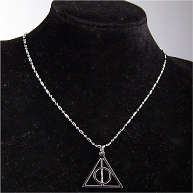 Men's / Women's Pendant Necklace / Chain Necklace - Silver Necklace For Party