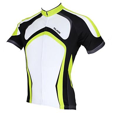 ILPALADINO Herrn Kurzarm Fahrradtrikot Fahhrad Trikot / Radtrikot, Rasche Trocknung, UV-resistant, Atmungsaktiv