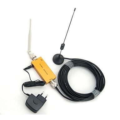 Mini W-Cdma 2100Mhz Mobile Telefon 3G Signalforstærker, W-Cdma 3G Signal Forstærker + Omni Antenne + Suger Antenne Med 10M Kabel