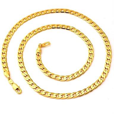 Pentru femei Circle Shape Formă Modă Lănțișoare Placat Auriu Lănțișoare Nuntă Petrecere Zilnic Casual Costum de bijuterii