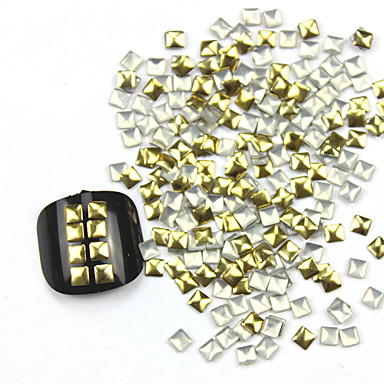 300 pcs Negle smykker / Dekorationssæt Abstrakt / Mode Daglig Nail Art Design / Metal