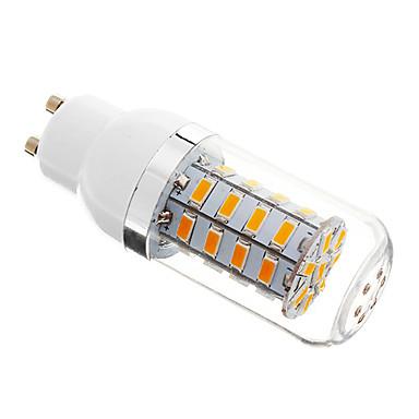 5W 350-400 lm GU10 Becuri LED Corn 36 led-uri SMD 5730 Intensitate Luminoasă Reglabilă Alb Cald AC 220-240V
