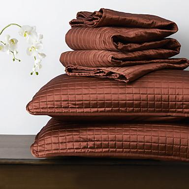 huani® deka set, 3 ks pléd červený polyester