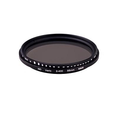 55mm Pro Slim Fader Variable Neutral Density ND filter Justerbar fra ND2 til ND400 ND2-ND400