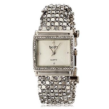 ASJ Dámské Náramkové hodinky Hodinky na běžné nošení japonština Křemenný imitace Diamond Nerez Kapela Elegantní Stříbro