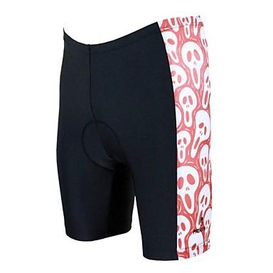 ILPALADINO Heren Gevoerde wielrenshorts Fietsen Short / Broekje / Gewatteerde shorts / Kleding Onderlichaam 3D Pad, / Polyester / Ademend