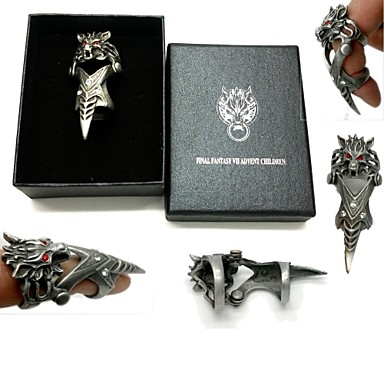 Sieraden geinspireerd door Final Fantasy Cosplay Anime/ Videogames Cosplayaccessoires Ring Legering Heren