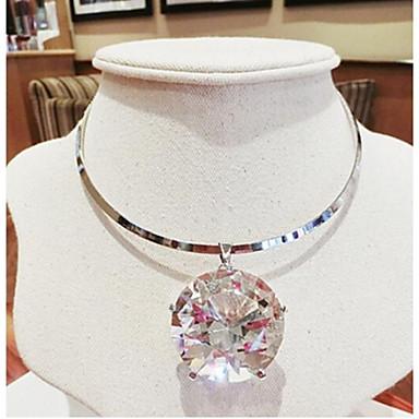 Жен. Ожерелья с подвесками  -  Хрусталь Ожерелье Назначение Свадьба, Для вечеринок, Повседневные