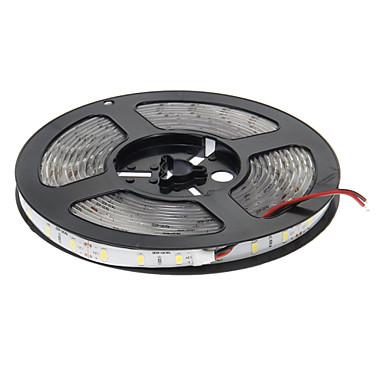 5m Flexible LED-Leuchtstreifen 300 LEDs 5630 SMD Warmes Weiß Wasserfest / Schneidbar / Selbstklebend 12 V 1pc / IP65