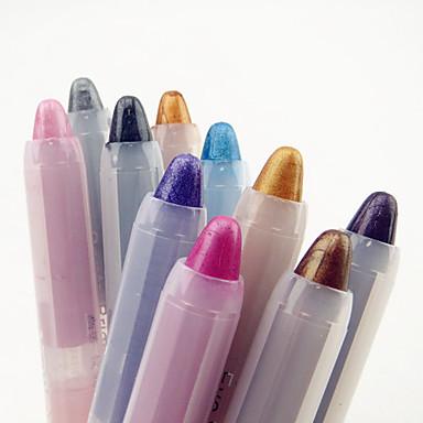 10pcs Oog Oogschaduw Potlood Dagelijkse make-up / Feestelijke make-up Dagelijks