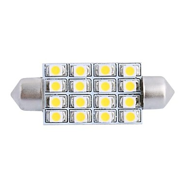 SO.K 1 Stück Auto Leuchtbirnen 4W SMD LED- Innenbeleuchtung