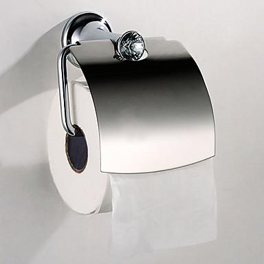Toiletrulleholder Høj kvalitet Moderne Rustfrit Stål 1 stk - Hotel bad