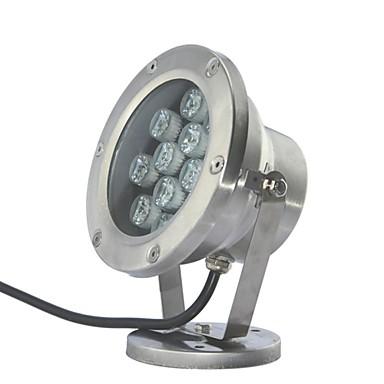 LED 12ks High Power LED venku 12W bílé Podvodní světlo AC/DC12V