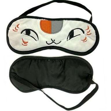 Maske Inspireret af Natsume Yuujinchou Kat Anime Cosplay Tilbehør Maske Polarfleece Herre nyt