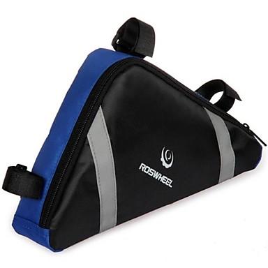 Fahrradtasche 2.6L Fahrradrahmentasche Wasserdicht tragbar Tasche für das Rad Nylon Fahrradtasche Radsport / Fahhrad