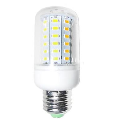 E26/E27 Becuri LED Corn T 60 led-uri SMD 5730 Decorativ Alb Cald 1200-1400lm 2800-3200K AC 220-240V