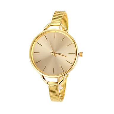 Mulan Alloy Women Dress Watch-103 (Gold)