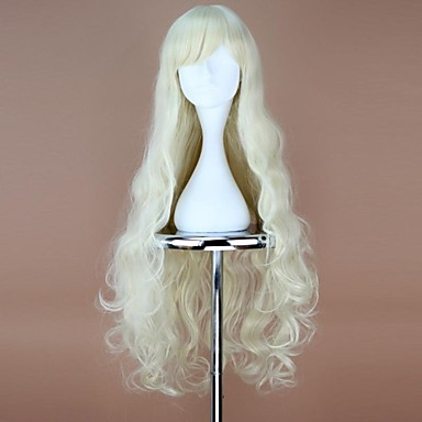 Cosplay Wigs Cosplay Mary Anime Cosplay Wigs 90 CM Heat Resistant Fiber Women's