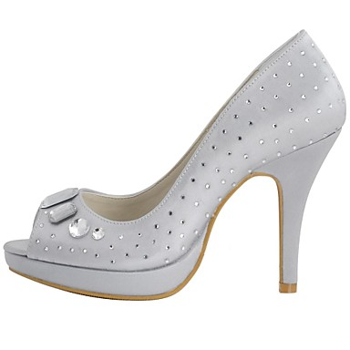 Printemps Satin Mariage Bleu Femme Aiguille Violet Eté 01693078 Talon Chaussures Doré Strass BZvEvwx