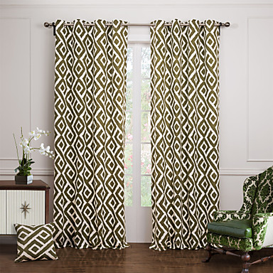bedroom curtains and drapes. Two Panels Curtain Modern  Jacquard Bedroom Cotton Material Curtains Drapes