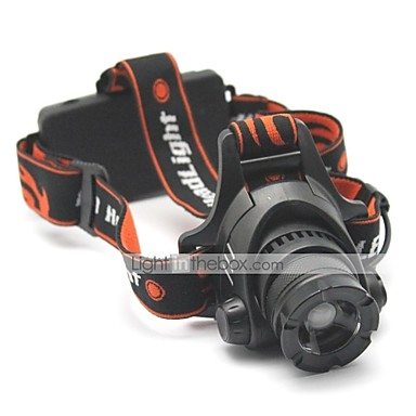 Lumini de Bicicletă Cree XM-L T6 Ciclism Focalizare Ajustabilă Reîncărcabil Rezistent la apă 1500 Lumeni Baterie