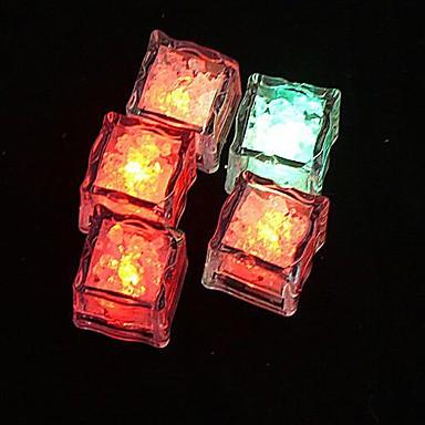 LED noční světlo Voděodolné Baterie Akrylát 1 osvětlení Baterie v ceně 2.2*2.2*2.0cm