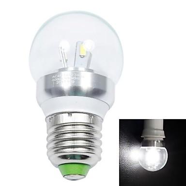 белый Свет Светодиодные лампы (AC 85-265V) E27 3W