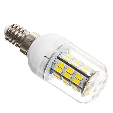 SENCART 5W 450-500lm E14 Becuri LED Corn T 42 LED-uri de margele SMD 5730 Alb Rece 12V