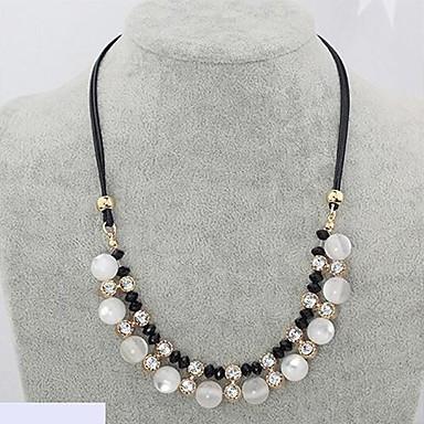 Damen Schlange Diamantimitate Stränge Halskette  -  Luxus Modische Halsketten Für Hochzeit Party Alltag
