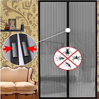 magnetické sítě proti komárům anti-moskytiéry záclon dveřního tylu okna