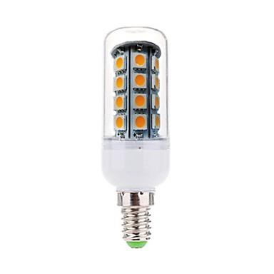 4W 350-380lm E14 LED Mais-Birnen T 36 LED-Perlen SMD 5050 Dekorativ Warmes Weiß 220-240V / RoHs