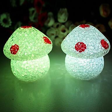 Coway Crystal Houby barevné LED noční světlo