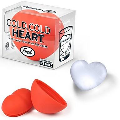 3d dragoste forma de inima silicon gheață mucegai mucegai tort pentru ziua valentine
