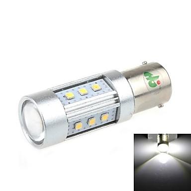 1156 15W 15x2323 SMD 1000lm 6500K White Light LED Bil Backup Light (DC 12-24V)