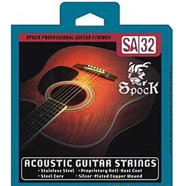 SA32 - Silver Folk Guitar Strings