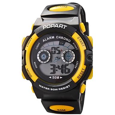 Dámské Křemenný Digitální Japonské Quartz Digitální hodinky Sportovní hodinky Žhavá sleva Pryž Kapela Přívěšky Černá