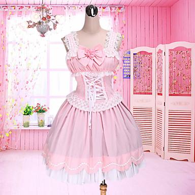 Lolita dulce Prințesă Pentru femei jsk / Jumper Skirt Cosplay Fără manșon