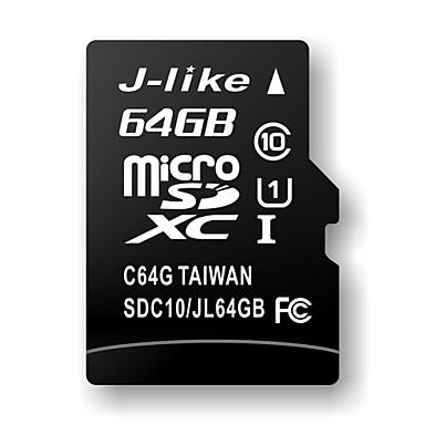 64 GB J-jako Class 10 MicroSDHC TF paměťové karty