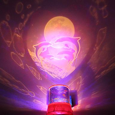diy haj romantisk galakse stjerneklar himmel projektor nat lys til julefrokost
