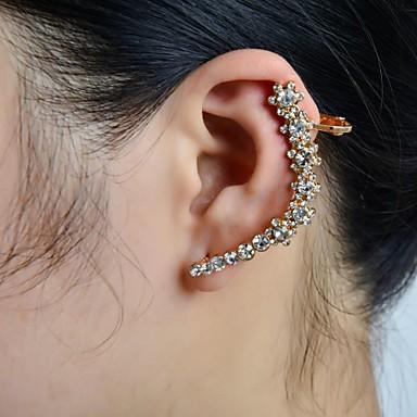 Pentru femei Cătușe pentru urechi Lux Ștras Diamante Artificiale Aliaj Floare Bijuterii Nuntă Petrecere Zilnic Casual Sport Costum de