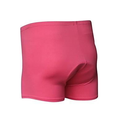 Damen Fahhrad Shorts / Laufshorts / Unterwäsche Shorts / Undershort 3D Pad, Rasche Trocknung, Atmungsaktiv Polyester, Elasthan Rose Rot