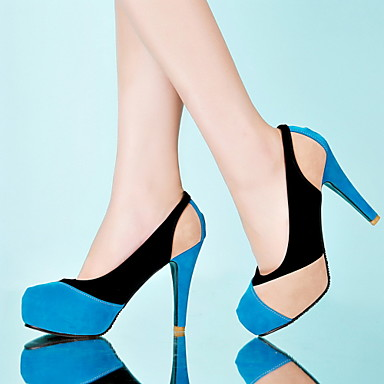 Suede Stiletto Heel Pumps With Split Joint Party / Evening Shoes (More Colors)