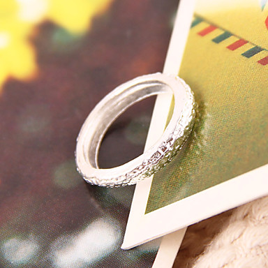 Široké prsteny,Šperky Bílá Párty / Denní Pryskyřice Dámské