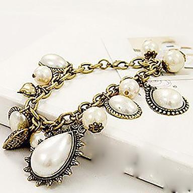 h&elegante de epocă perla bratari in forma de picatura de femei d lui